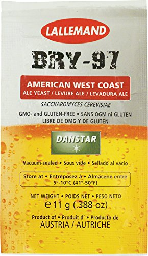 Lallemand Dry Yeast - BRY-97 (11 g) (Pack of (Ale Dry Wine)