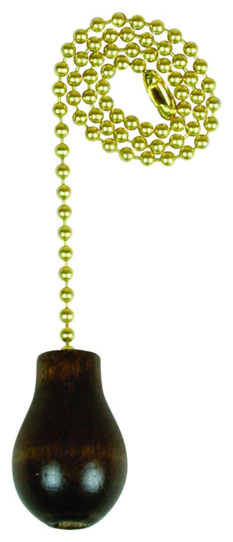 Chain Pull W/Wal Wood Knb 12in