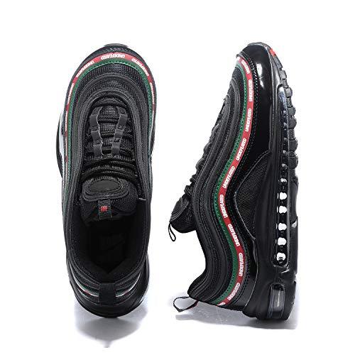 Running Sneaker Nero Air Uomo 97 97 Rosso Max verde 1qrfRgw1F