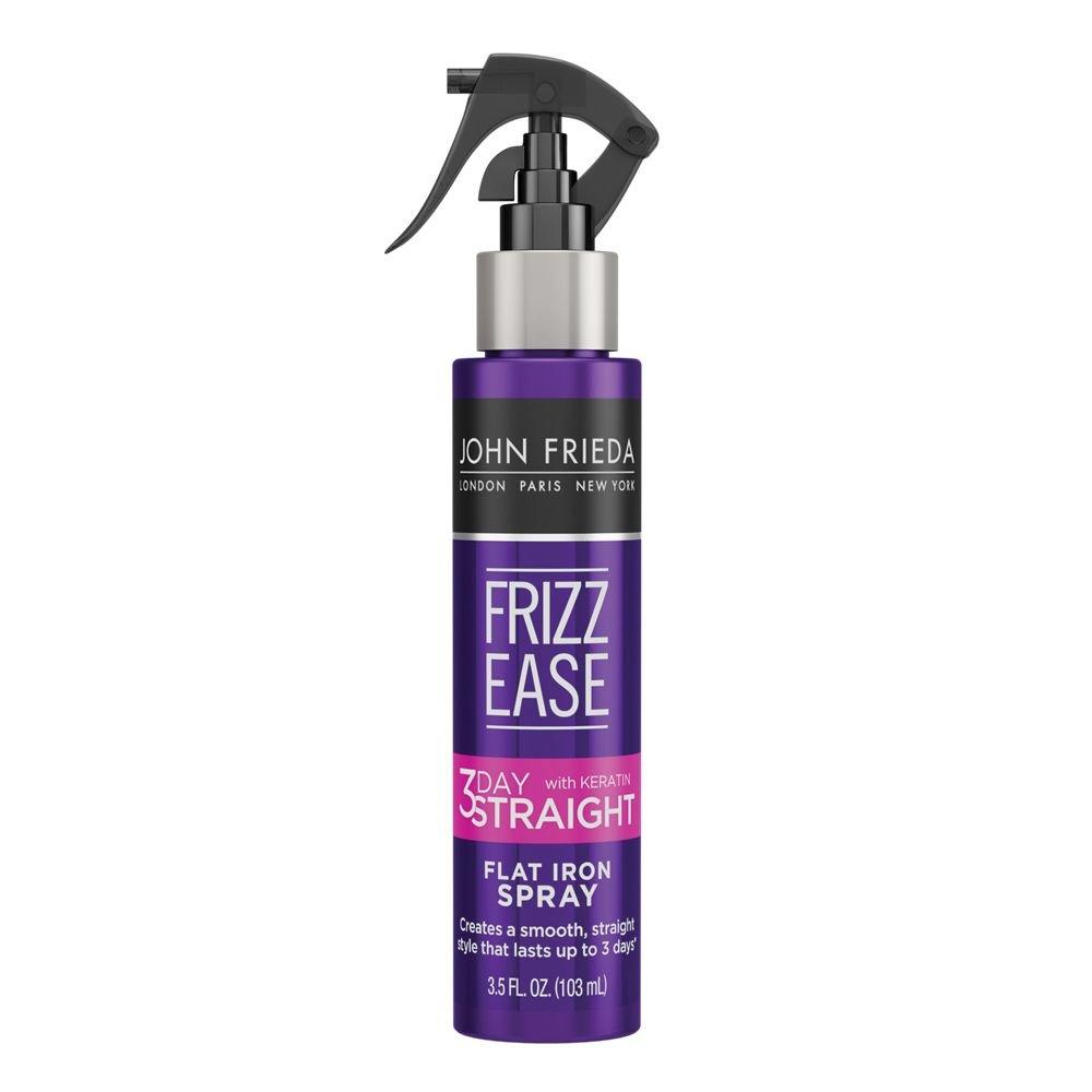 John Frieda Frizz Ease 3-Day Straight Flat Iron Spray, 3.5 Ounces