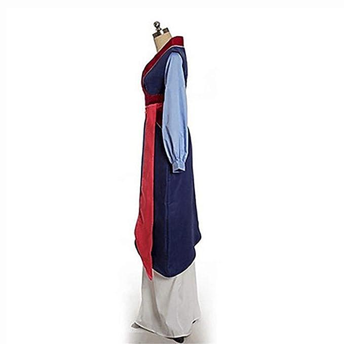 LISI Disfraz Mulan Tang Cosplay Costume, Kimono Robes Anime ...
