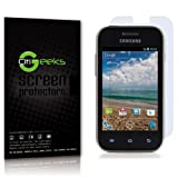 CitiGeeks® 2x Crystal Clear HD Premium Screen Protector for Samsung Galaxy Discover SGH-S730M. Invisible. Pack of 2. CitiGeeks® Retail Package.