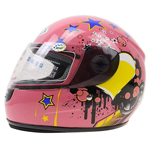 LLTT 3-12 Jahre Kinder Motorradhelm Vorne Voller Motorradhelm 6 Farben Erhältlich Größe 48-52 cm Motorradhelm for Den…