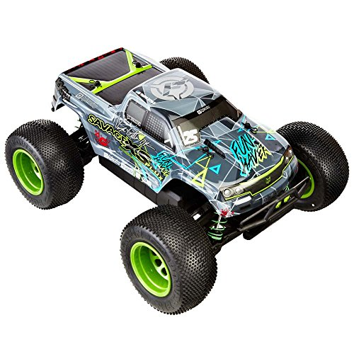 - Hobby Products International Racing 115967 Savage XS Flux V Gittin Jr Fun Haver 4WD Ready to Run Radio Control Truck