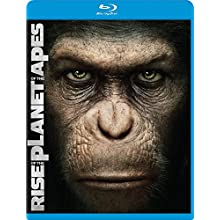 Rise of the Planet of the Apes (Two-Disc Edition Blu Ray + DVD/Digital Copy Combo) [Blu-ray] (2011)