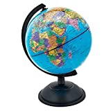 18CM GLOBE WORLD MAP ATLAS REVOLVING WITH STAND EDUCATIONAL XMAS GIFT