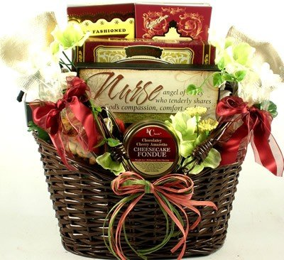 Gift Basket Village World's Greatest Nurse Gift Basket