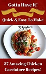 This classic Italian dish must have hundreds of versions, all resulting in a rustic braise of chicken, aromatic vegetables and tomatoes. Here you will find 37 of the best Chicken Cacciatore Recipes! No guess work here using my full step by st...