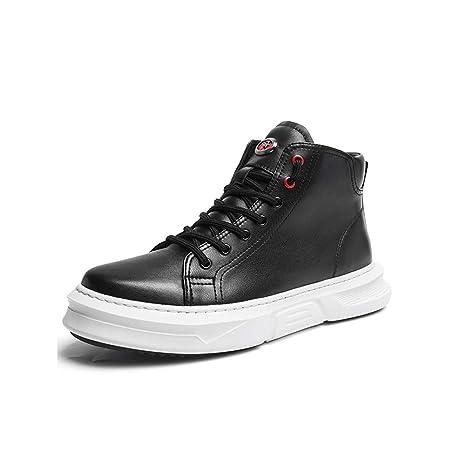Sneakers High Uomo Yiwu Versione Help Pelle Vera Coreana In Shoes D9EW2IH