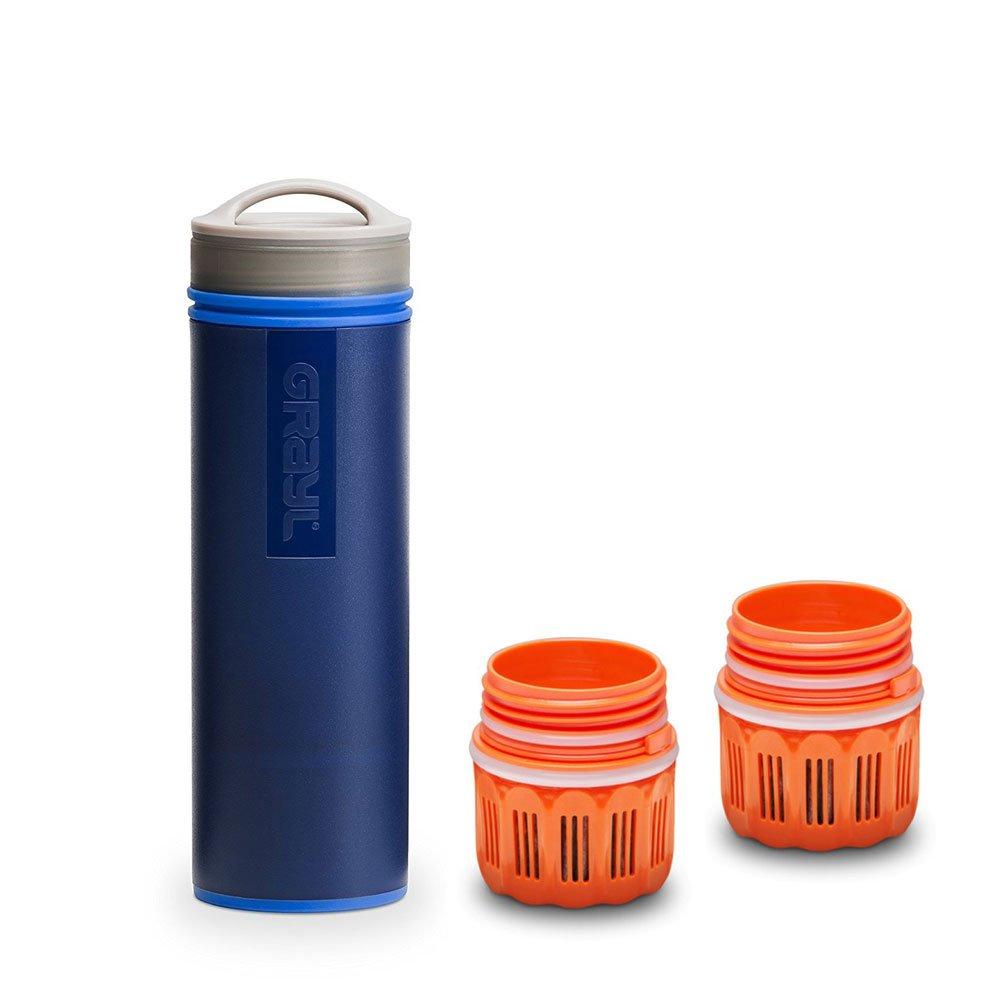 graul Ultralight Outdoor- & Reise- Wasserfilter blau mit 2 Ersatzfiltern