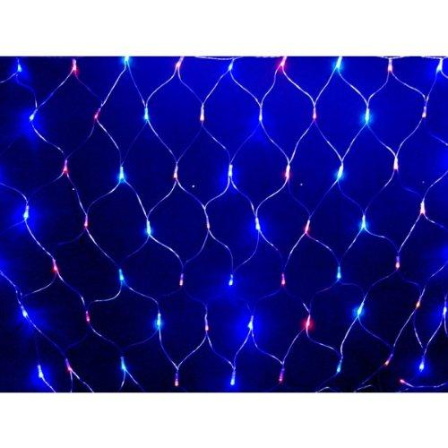 180cm x 120cm 160 LED Christmas Net Lights in Multi Coloured Universal Markets Ltd