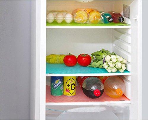 Kühlschrank Einlagen Matten : Musuntas 6pcs kühlschränke waschbare kühlschrankmatten küche