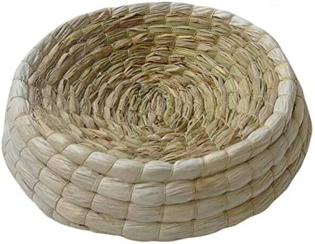 Bird Nest Breeding Bird Box Rope Weave Durable Bird House Home Toys Q