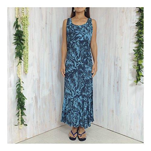八カテゴリーアレルギー性ウェリナ welina ロングドレスDR05 サイズ L hawaii ハワイ ハワイアン リゾート ウェディング 結婚式 参列 パーティー 普段着