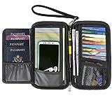Passport Wallet Travel Wallet Passport Holder RFID Multiple Men Document Organizer