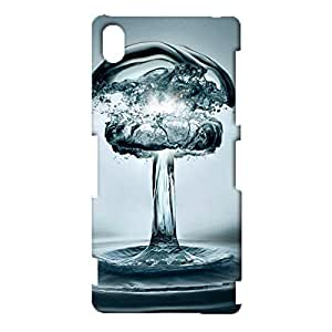 Sony Xperia Z3 Case,Bright Creative Water Art Pattern Premium Exquisite 3D Snap on Protective Case for Sony Xperia Z3