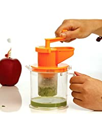 Bargain !!!Make Good Health!!! Manual Juicer Hand Powered Can Use With, Wheatgrass, Fruit, Citrus Mini Healthy Juice Squeezer... cheapest