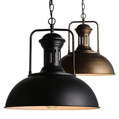 Amazon.com: AOBOLA Lámpara de techo industrial vintage de ...