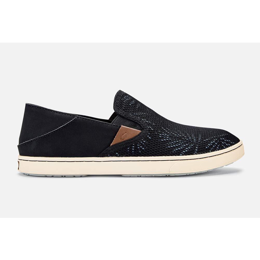 OLUKAI Pehuea Shoe - Women's Black/Palm 8