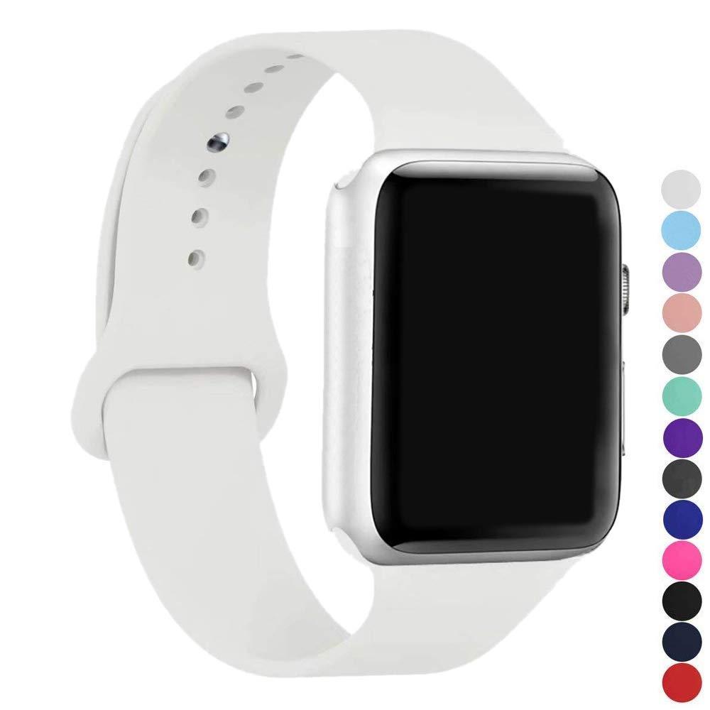 Malla Silicona para Apple Watch (38/40mm) IC6SPACE [B4WSCXR]