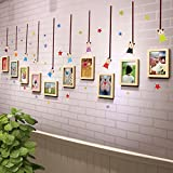 TIANTA- Solid Wood Frame Wall Creative Home Decoration Children Bedroom Bedroom Personality Combination Photo Wall adorn ( Color : #3 )