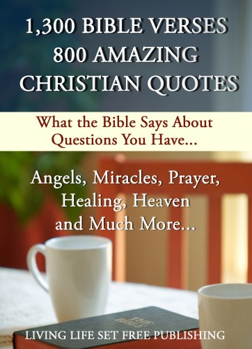 1 300 Bible Verses 800 Amazing Christian Quotes 50 Interactive