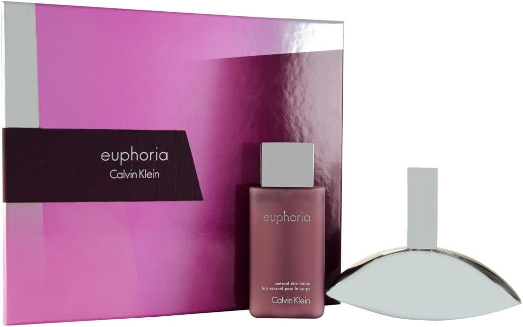 Calvin Klein Estuche Euphoria Edp 100 ml + Loción Corporal Hidratante 100 ml: Amazon.es: Belleza
