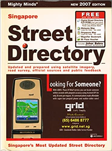 Singapore Street Directory (Singapore's Most Updated Street