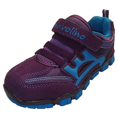 Benvolino - Zapatillas de Material Sintético para niño burgund-blau
