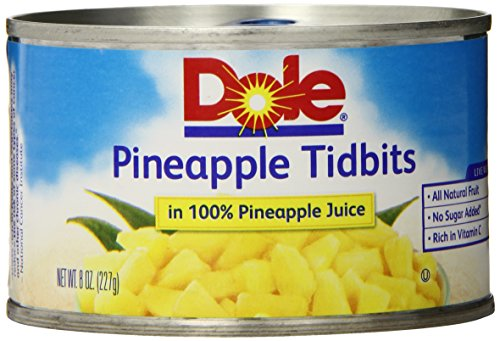 Dole Pineapple Tidbits Juice Ounce product image