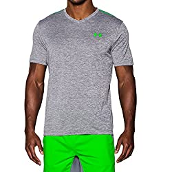 Under Armour - Under Armour Tee Shirt - Tech V-neck - Graphite - X-large