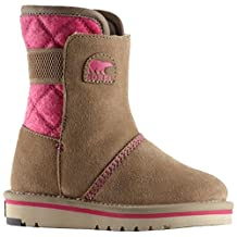 Sorel Little Girls' Leather and Suede Campus Boots
