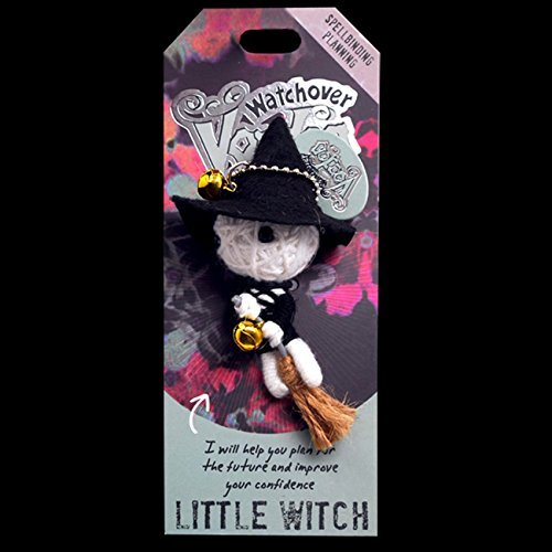 Watchover Voodoo 108010036 Little Witch Doll, Small, Multicolor
