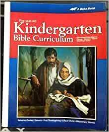 New A Beka Book K5 Kindergarten God's World Science student text 3rd edition