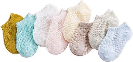 MB-LANHUA Calcetines para bebé Calcetines Cortos de Verano para ...