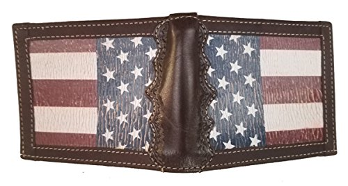 Crescent Flag and Bi Wallet Shriner Scimitar Custom States with Flag fold United Distressed American twXqf1Xx
