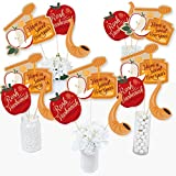 Rosh Hashanah - Jewish New Year Centerpiece Sticks - Table Toppers - Set of 15