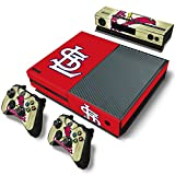 FriendlyTomato Xbox One Console and Controller Skin Set – Baseball MLB – Xbox One Vinyl