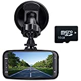 digitsea Novatek 96220 140degrees wide-angle 2.7'LCD 1080P HD Car DVR Vehicle Camera Video Recorder camcorder Road Dash Cam GS8000 /w 16G memory card /12V-24V input truck charger/HDMI interface