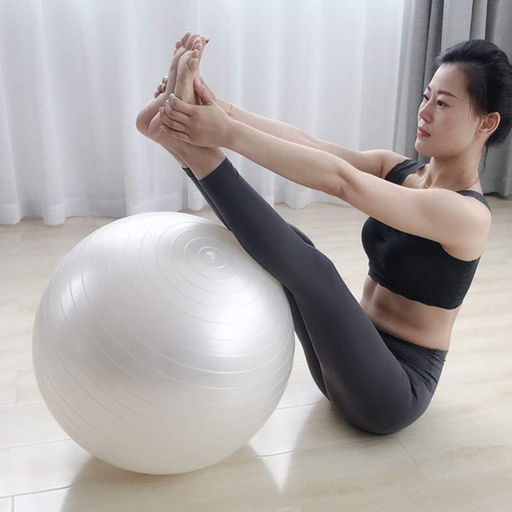MED Yoga Blanco Bola Espesar ecológico Pelota de Ejercicio Pequeña ...