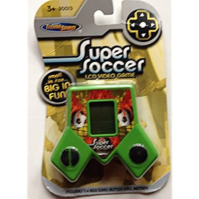 Super Soccer LCD Video Game: Toys & Games