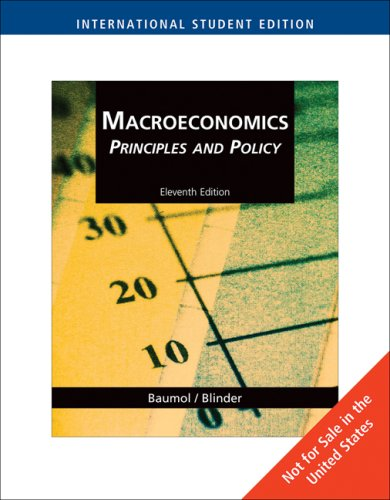 Download Macroeconomics Principles and Policy 11th Edition