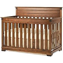 Childcraft Redmond 4-in-1 Convertible Crib- Coach Cherry