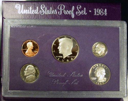 1984 U.S. Mint Proof Set Original Mint Pkg ()