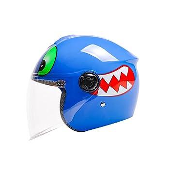 Cascos de motocross Sombrero medio casco para niños Casco para niños Casco eléctrico para motocicleta Casco