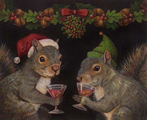 Image result for christmas squirrel