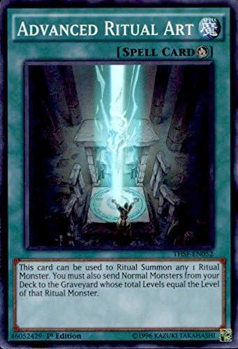 Yu-Gi-Oh! - Advanced Ritual Art (THSF-EN052) - The Secret Forces - Unlimited Edition - Super Rare, Toys & Games - Amazon Canada