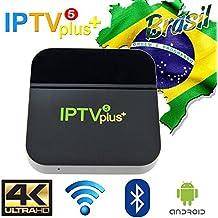 HTV5   IPTV5 Edition 4K possui quase 200 Canais de TV, muitos deles em HD e além disso conta com Karaokê, Bluetooth, Android 5.1, e muitos canais de entretenimento, infantis, esportes, filmes e séries