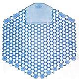 Fresh Products - Wave 3D Urinal Deodorizer Screen, Blue, Wintergreen Fragrance, 60 Screens/Carton
