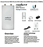 Ubiquiti ROCKET-M900 Hi Power 2x2 MIMO 900MHz AirMax
